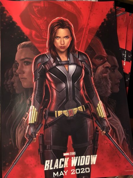 Il poster ufficiale internazionale di Black Widow (2020)