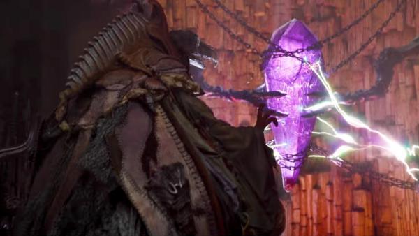 Gli Skeksis abusano del potere del Cristallo in Dark Crystal: La resistenza.