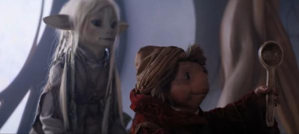 Dark Crystal: La resistenza. Anche i più piccoli possono essere grandi eroi, come il paladino Hup. Un podling coraggioso.