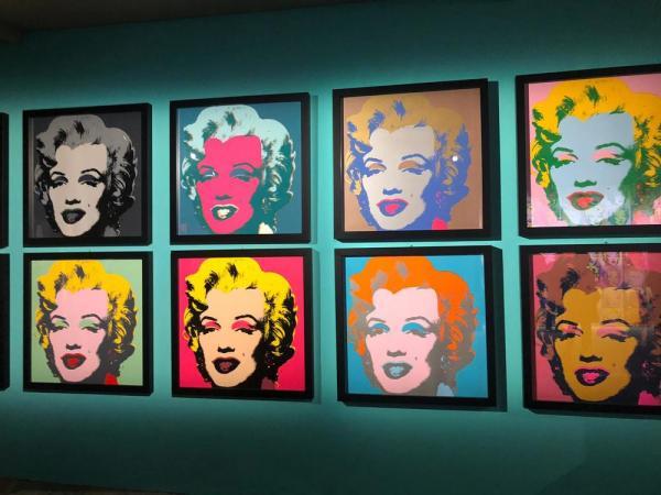 Andy Warhol a Napoli. Foto di Claudia Graziani. (c) Arthemisia
