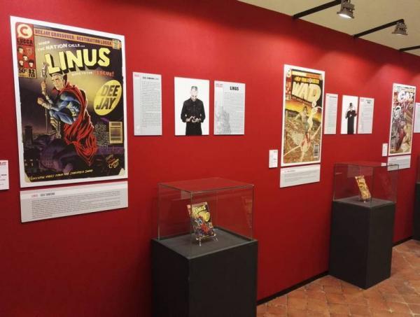 La mostra di Radio DEEJAY a Lucca Comics & Games 2019.