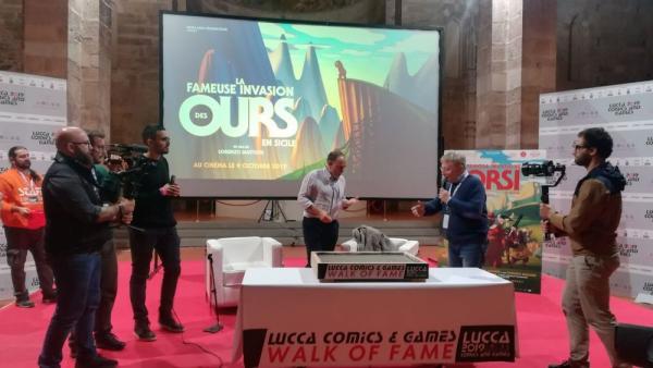 Lorenzo Mattotti a Lucca per la Walk of Fame