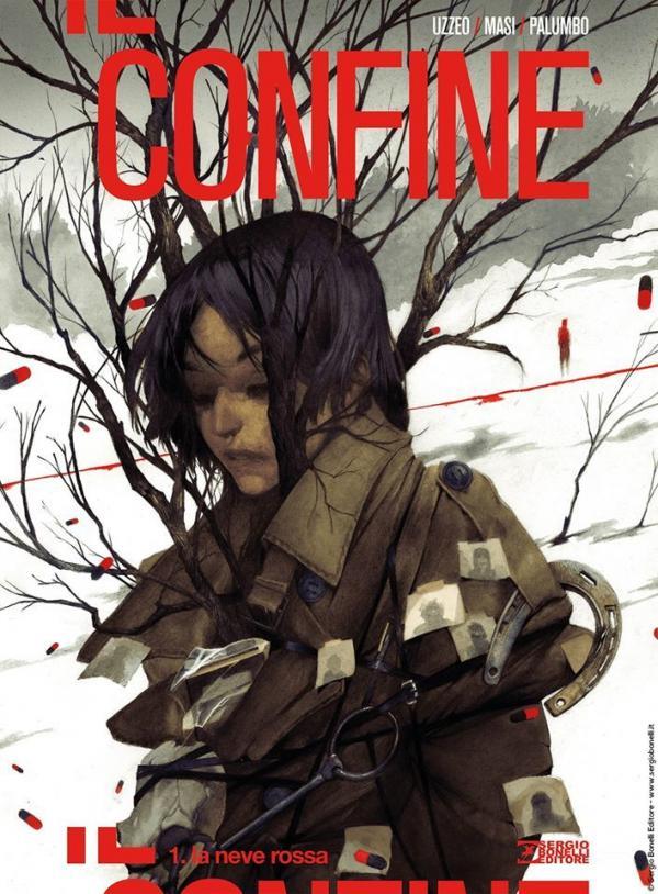 Il primo numero, la cui copertina è comparsa sulla pagina Facebook di Bonelli Editore
