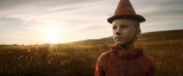 La prima immagine di Federico Ielapi nel ruolo di Pinocchio