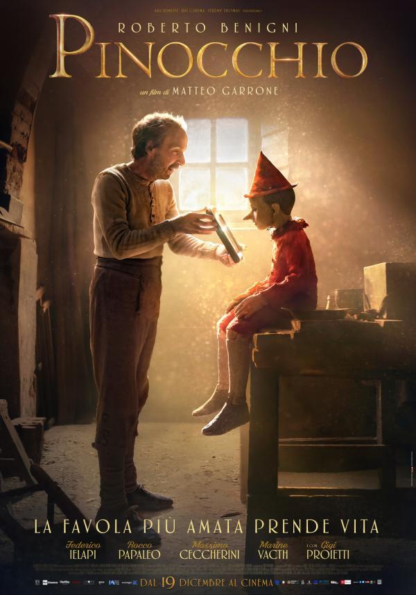 Il manifesto ufficiale di Pinocchio