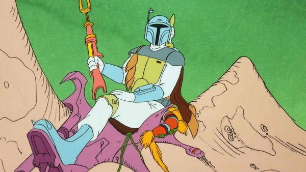 La prima apparizione di Boba Fett: un episodio animato inserito in The Star Wars Holiday Special.