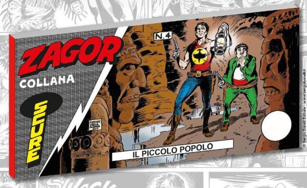 La copertina dell'albo Zagor Collana Scure - Il piccolo popolo