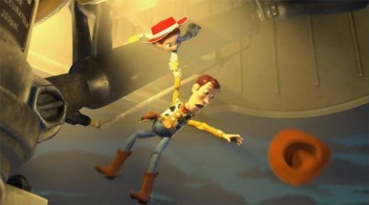 Un fotogramma tratto da Toy Story 2.