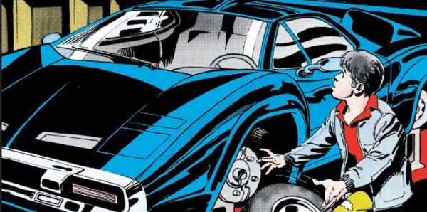 La batmobile dai fumetti del 1980. (Fonte: Screenrant.com)