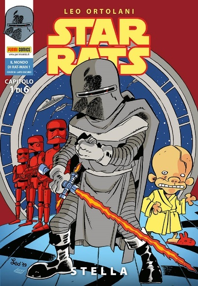 Rat-Man, Star Rats © 2020 Leonardo Ortolani. Used under license.Per questa edizione: © 2020 Panini S.p.A. All rights reserved.