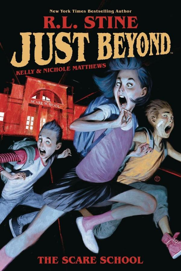 Just Beyond - Cover Art Courtesy of Boom Studios