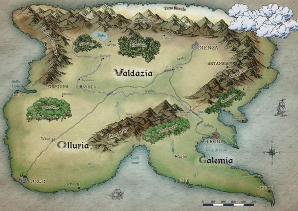La mappa di Eudopia
