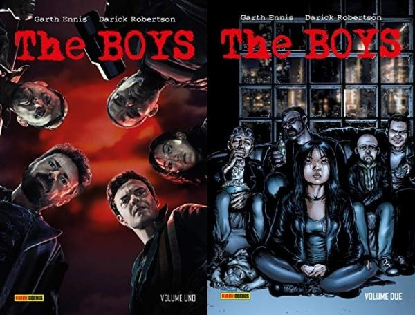 The Boys deluxe - Vol. 1 e 2