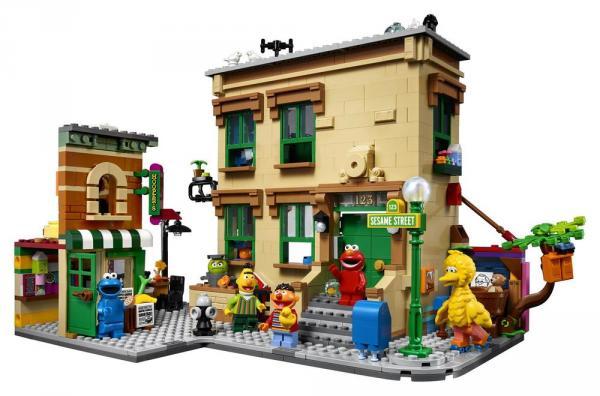 123 Sesame Street LEGO Ideas