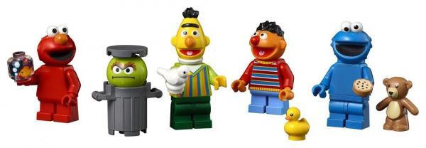 Minifigure del set123 Sesame Street LEGO Ideas