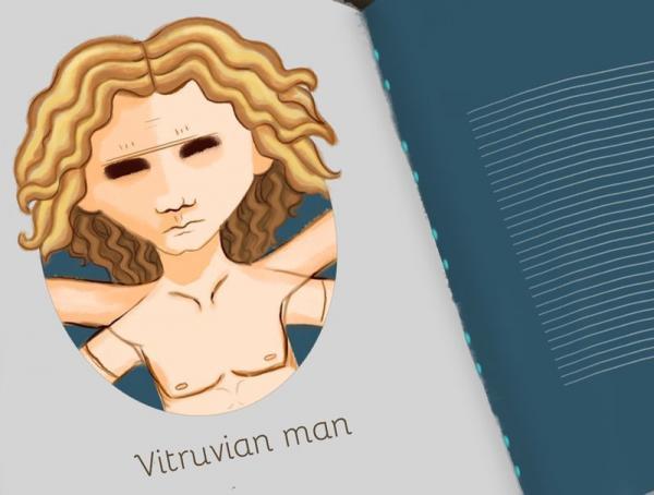 Mutropolis. Come verrà interpretato l'Uomo Vitruviano di Leonardo tra cinquemila anni?