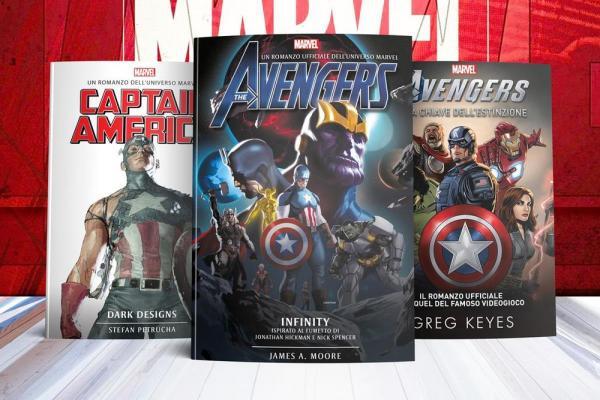 I romanzi Marvel pubblicati da Multiplayer