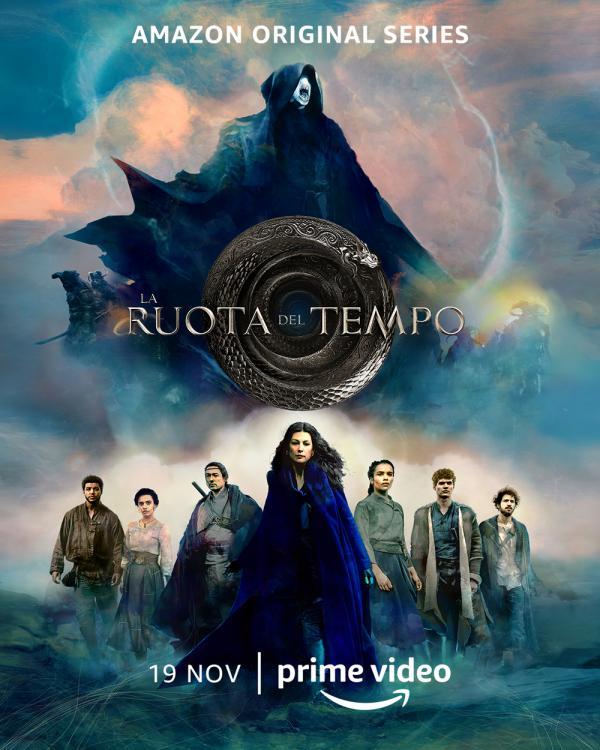 La ruota del tempo. Poster ufficiale