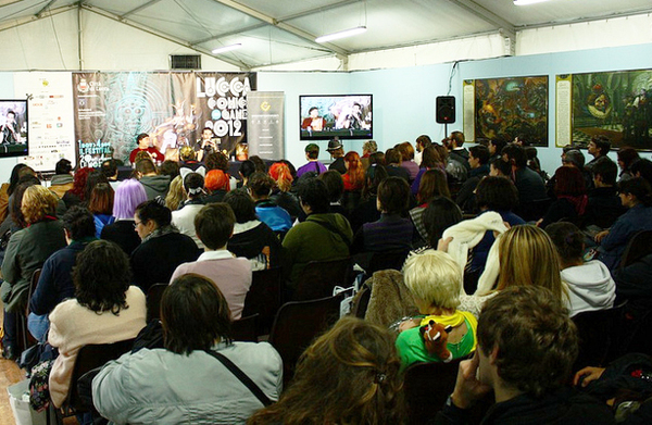 Un incontro in Sala Ingellis a Lucca Games 2012