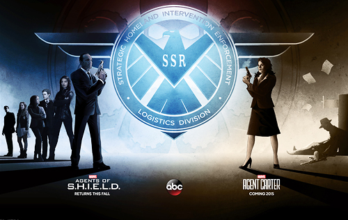 Agents of S.H.I.EL.D. e Agent Carter.