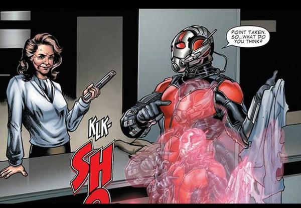 L'Agente Carter nel preludio a fumetti di Ant-Man