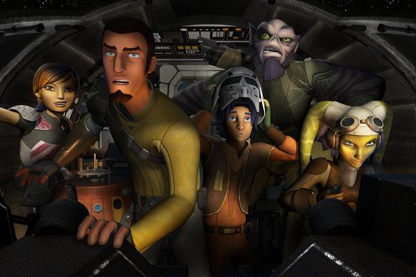 Una immagine da Star Wars: Rebels