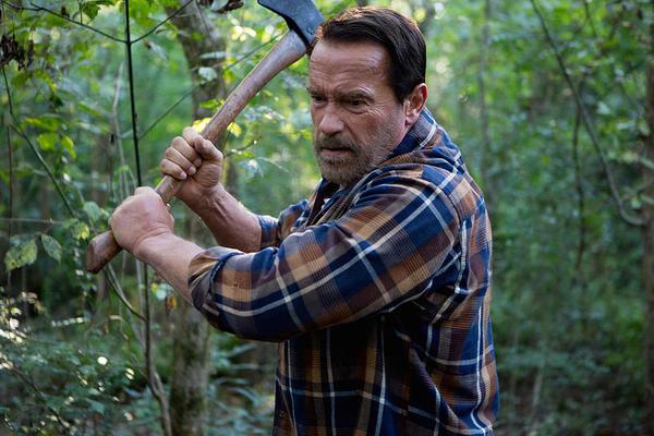 Arnold Schwarzenegger in Contagious