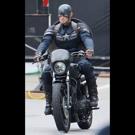 Captain America: The Winter Soldier, il costume del Capitano