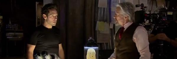 Paul Rudd e Michael Douglas in Ant-Man