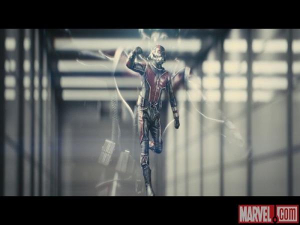 Ant-Man in azione