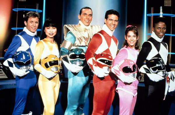 I Power Rangers degli anni Novanta