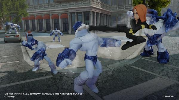 La vedova nera contro i giganti di ghiaccio in Disney Infinity 2.0