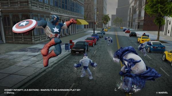 Capitan America e gli Avengers in Disney Infinity 2.0: Marvel Super Heroes