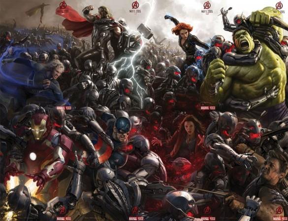 Il nuovo poster di Avengers: Age of Ultron