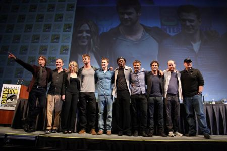il cast di The Avengers alla Comic-Con 2010