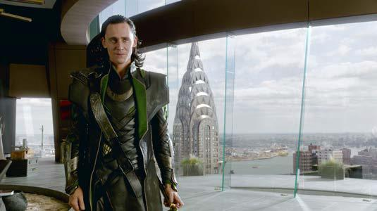 Tom Hiddleston è Loki in Avengers (2012)