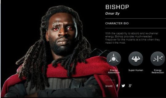 Omar Sy è Bishop