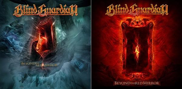 Le due cover di Beyond The Red Mirror, entrambe realizzate da Felipe Machado Franco