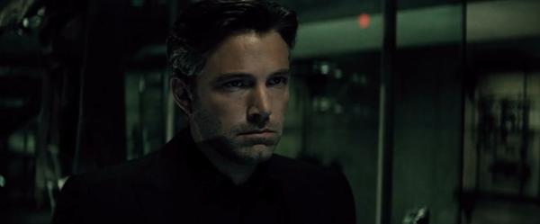 Bruce Wayne (Ben Affleck) in un fotogramma del primo teaser trailer del film