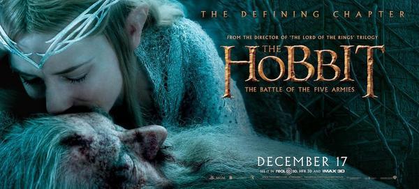 Cate Blanchett in Lo Hobbit: La battaglia delle cinque armate