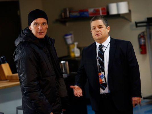Clark Gregg e Patton Oswalt in Agents of S.H.I.E.L.D.