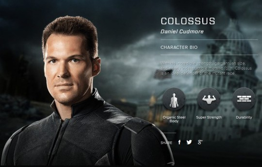 Daniel Cudmore è Piotr Rasputin / Colossus