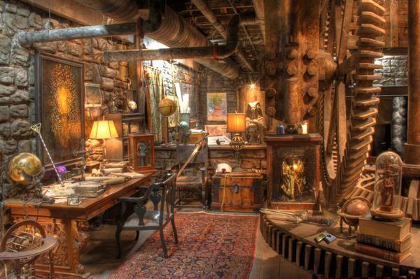L'interno della Casa Mulino (The Mill House) vista nella prima stagione di Constantine
