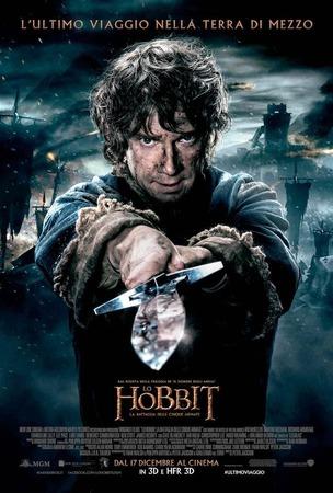 Lo Hobbit: la battaglia delle cinque armate, il poster ufficiale