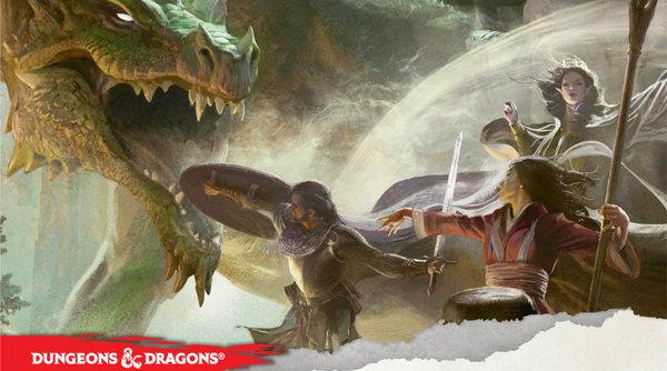 La copertina dello Starter Set della quinta edizione di Dungeons & Dragons