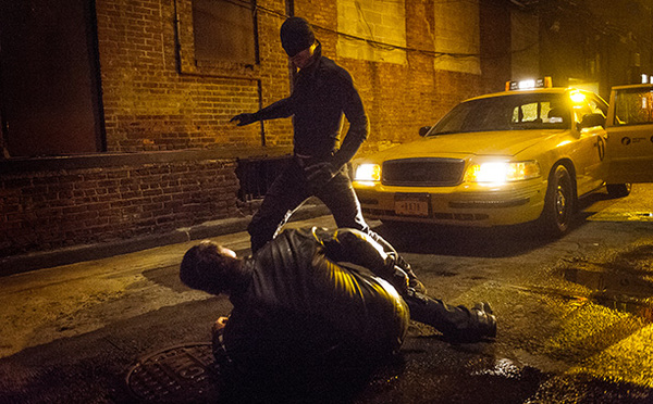 Charlie Cox alias Daredevil