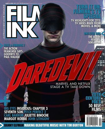 FilmInk copertina con Daredevil