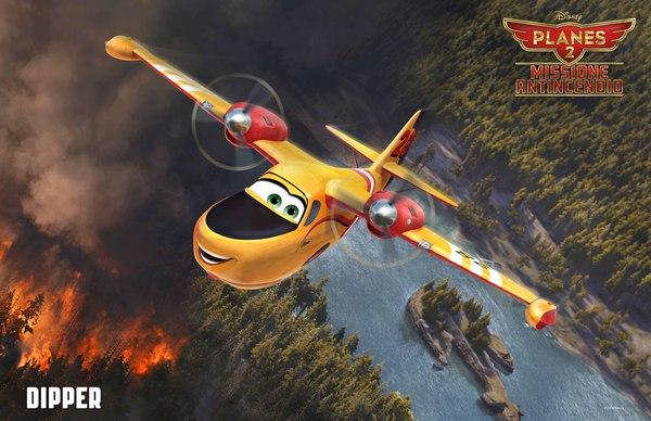 Dipper, co-protagonista di Planes 2 - Missione Antincendio