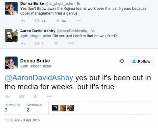 I tweet di Donna Burke