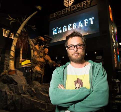 Duncan Jones. regista di Warcraft